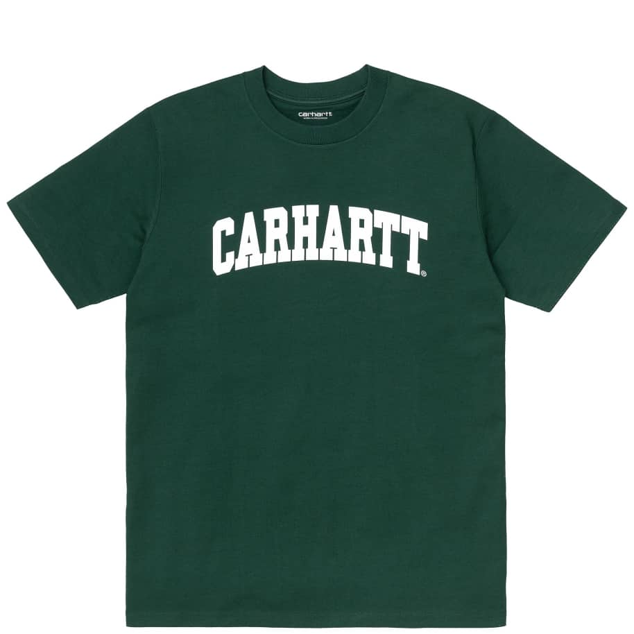 Carhartt WIP University T-Shirt - Treehouse / White | T-Shirt by Carhartt WIP 1