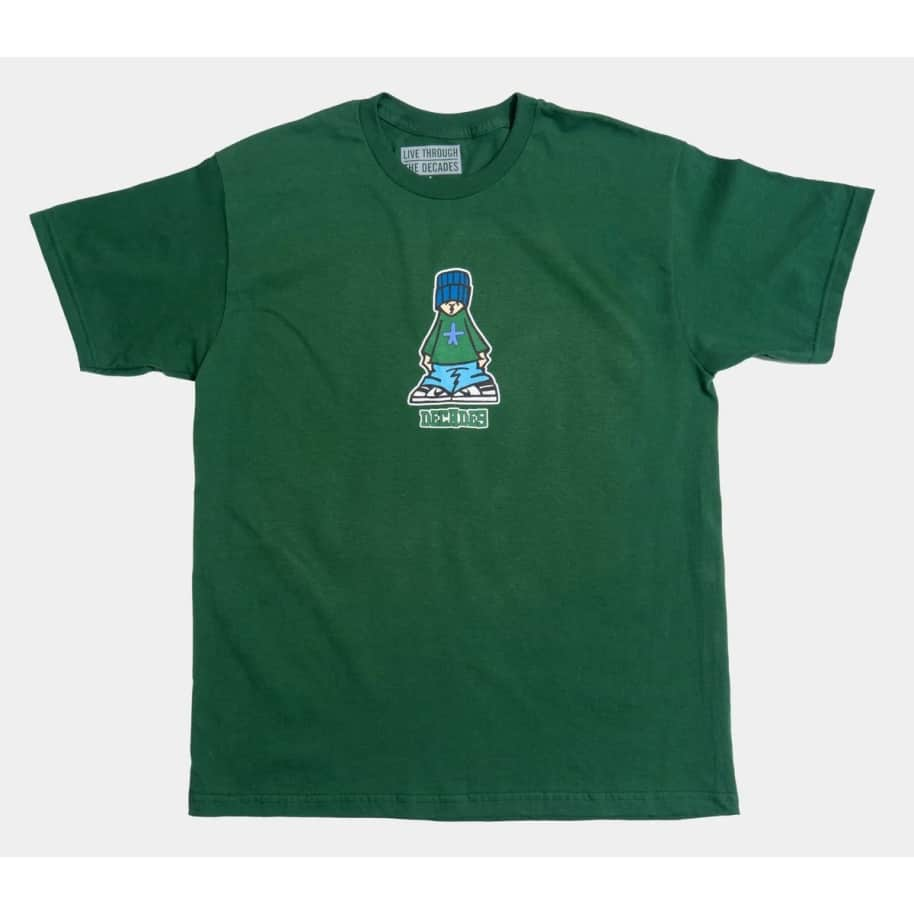 Decades Kid Tee (Forest Green)   T-Shirt by The Decades 1