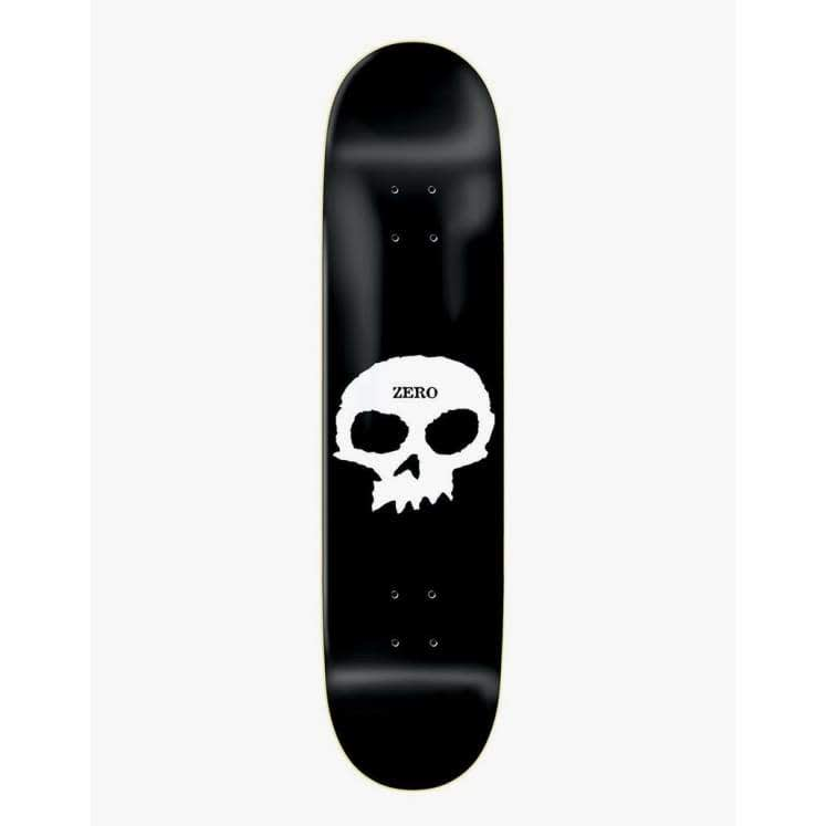 Zero Single Skull Skateboard Deck - 8.625"