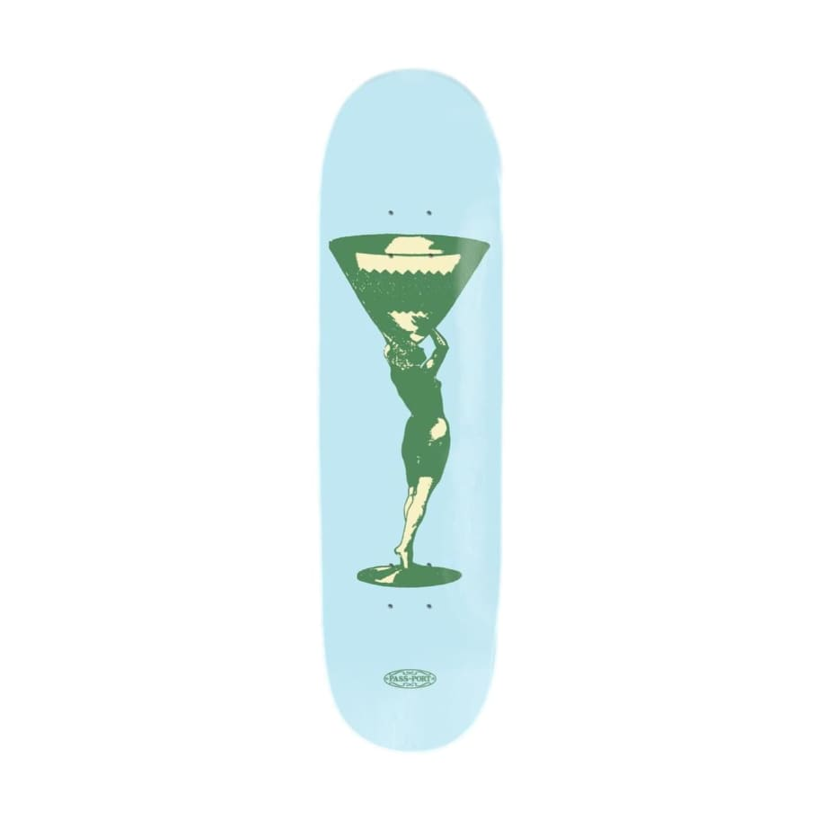 "Pass Port - Cup Runneth Series Miss Martini Deck (8.125"")   Deck by Pass~Port Skateboards 1"