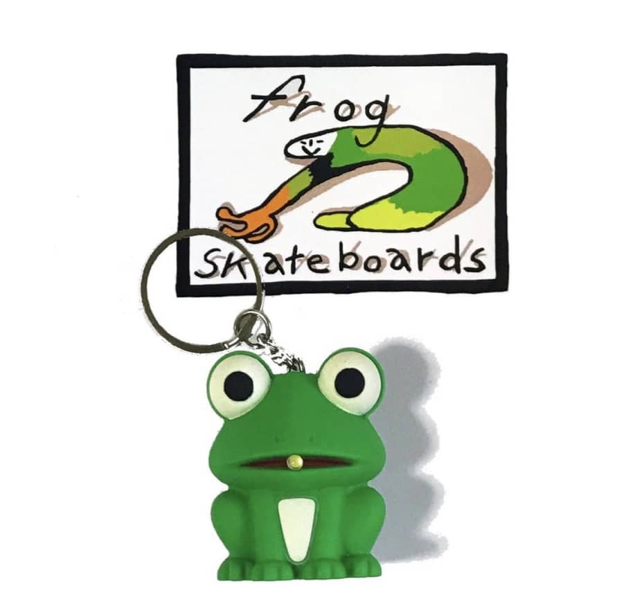 Frog Keychain | Key Chain by Frog Skateboards 1