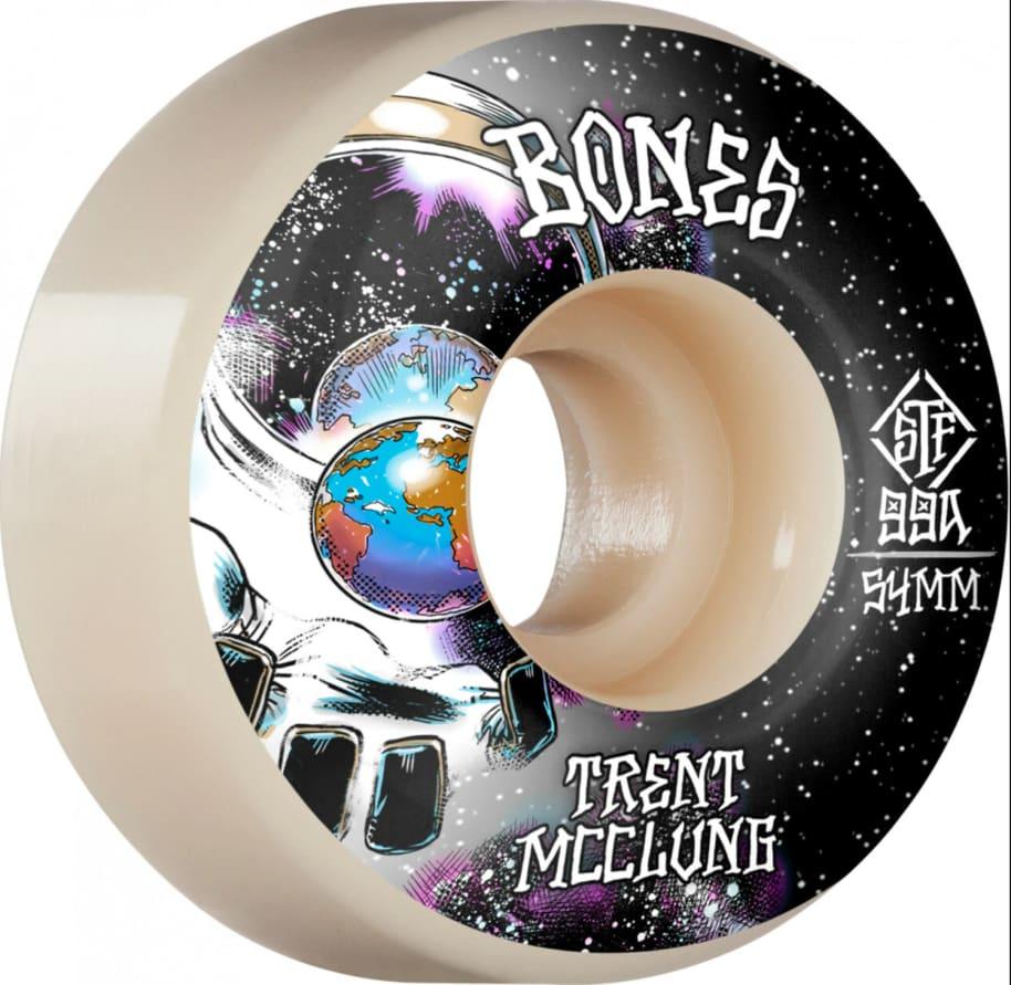 BONES STF WHEELS - MCCLUNG UNKNOWN V1 STANDARD 99A (54mm) | Wheels by BONES 1