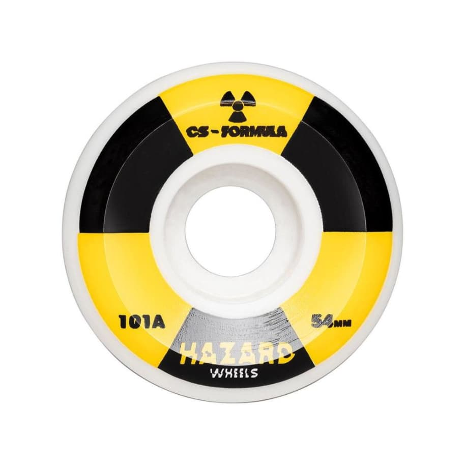 Hazard Wheels Radio Active Conical 58mm 101a | Wheels by Madness Skateboards 1