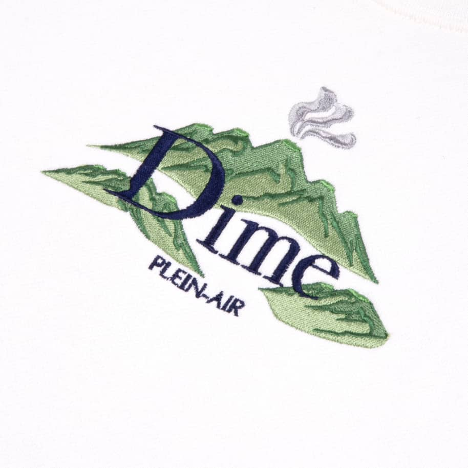 Dime Plein Air Crewneck - Cream | Sweatshirt by Dime 2
