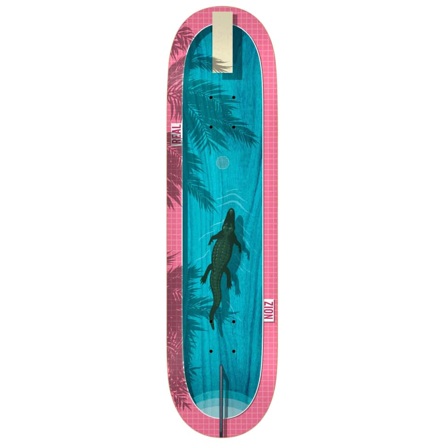 """Real Zion Dive In Deck 8.5""""   Deck by Real Skateboards 1"""