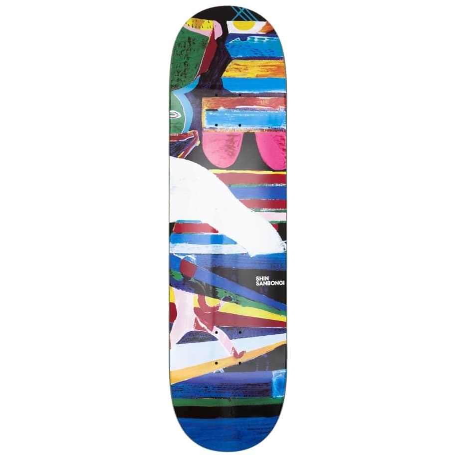 "Polar Skate Co Shin Sanbongi Memory Palace Skateboard Deck - 9"" | Deck by Polar Skate Co 1"
