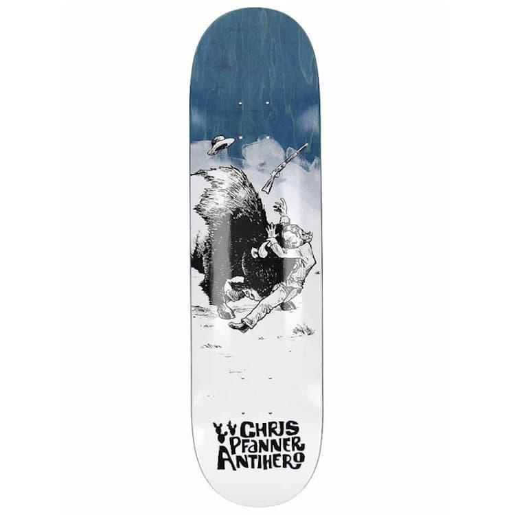 """Anti Hero Skateboards Pfanner How The West Skateboard Deck 8.06""""   Deck by Antihero Skateboards 1"""