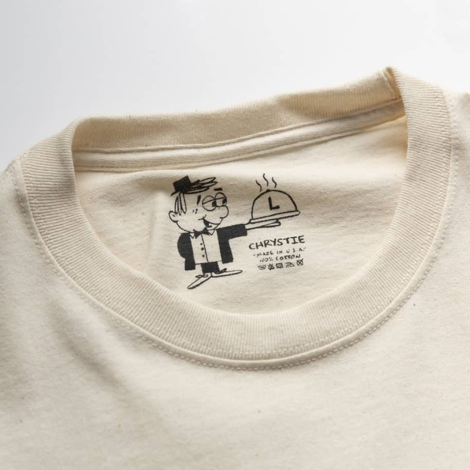Chrystie NYC NYC Workers Long Sleeve T-Shirt - Natural | Longsleeve by Chrystie NYC 4