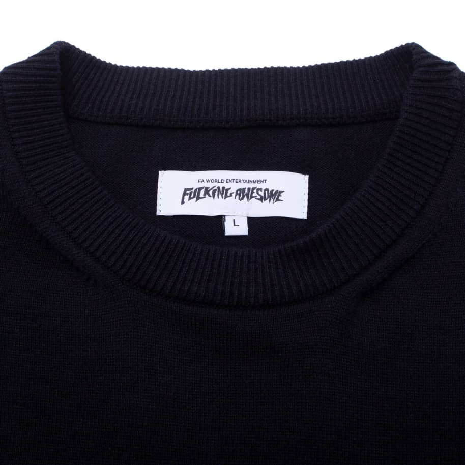 Fucking Awesome Homeroom Sweater T-Shirt - Black | T-Shirt by Fucking Awesome 2