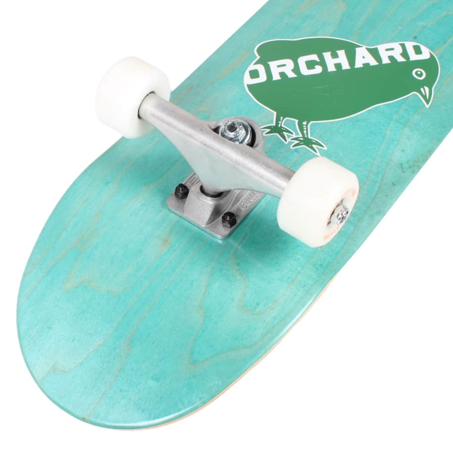 Orchard Green Bird Logo Hybrid Complete 7.8 Cyan (With Free Skate Tool)   Complete Skateboard by Orchard 3