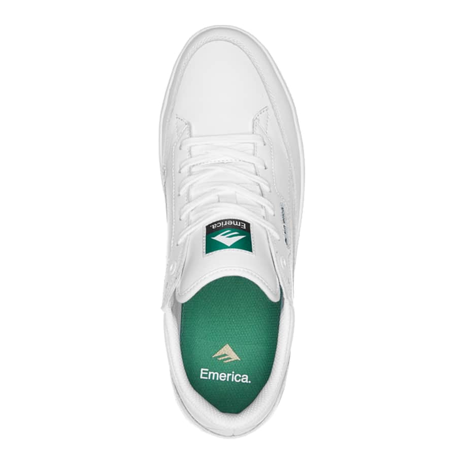 Emerica Gamma Skate Shoes - White | Shoes by Emerica 3