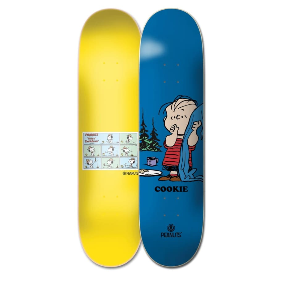 "Element Skateboards Peanuts Cookie x Linus 8.4"" Skateboard Deck | Deck by Element 1"
