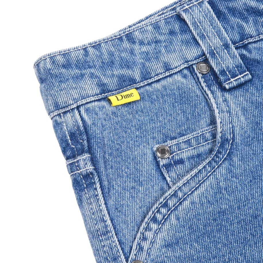 Dime Denim Pants - Light Wash | Jeans by Dime 4