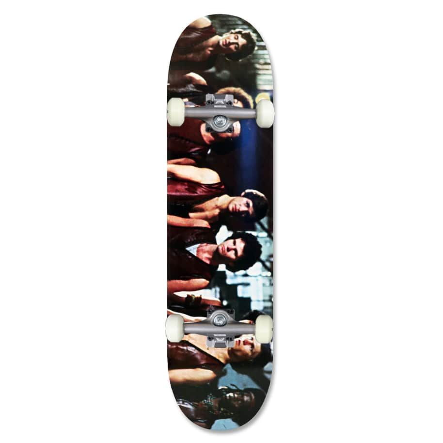 Skateboard Cafe Play 'Warriors' Complete Skateboard 8.25"