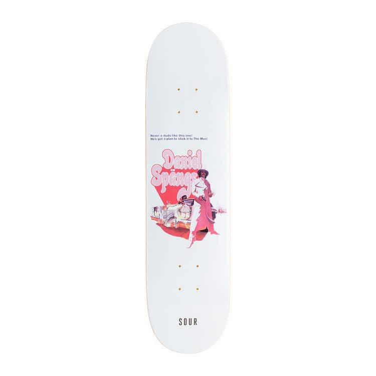 """Sour Spangs Super Spangs Deck 8.18""""   Deck by Sour Skateboards 1"""