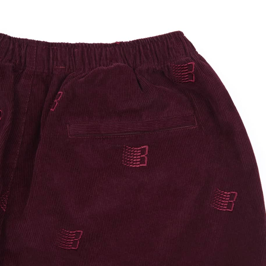 Bronze 56k Allover Embroidered Cord Pants - Maroon | Trousers by Bronze 56k 2