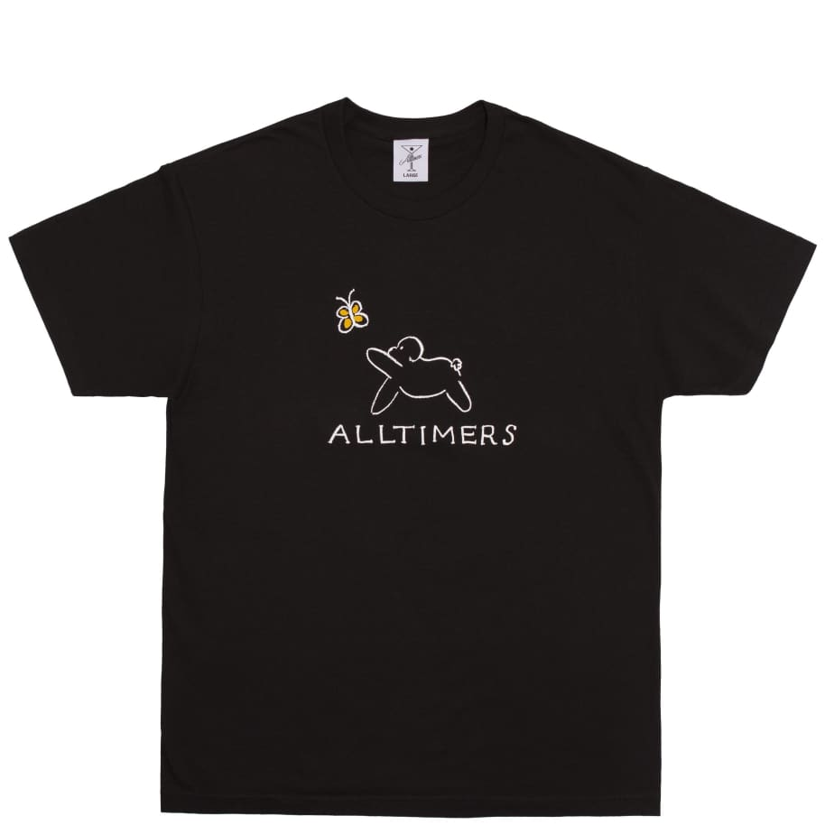 Alltimers Claire Pup T-Shirt - Black | T-Shirt by Alltimers 1