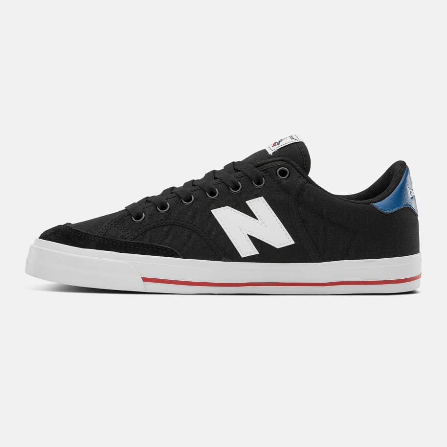 New Balance Numeric 212 Shoes - Black / Blue | Shoes by New Balance 3