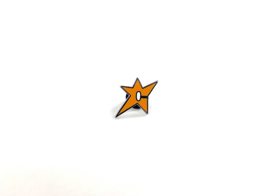 Carpet Company - C-Star Lapel Pin | Pin Badge by Carpet Company 1