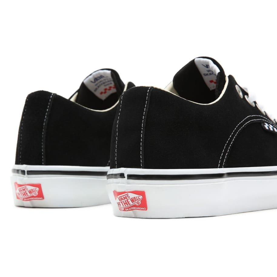 Vans Skate Lampin Shoes - Black / White | Shoes by Vans 6