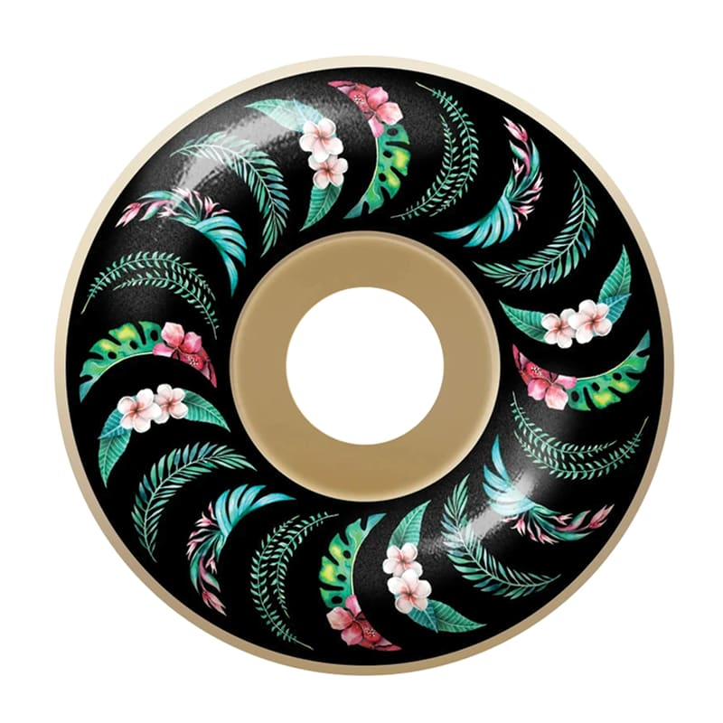 Spitfire Formula Four Floral Skateboard Wheel Conical 54mm 99a   Wheels by Spitfire Wheels 1