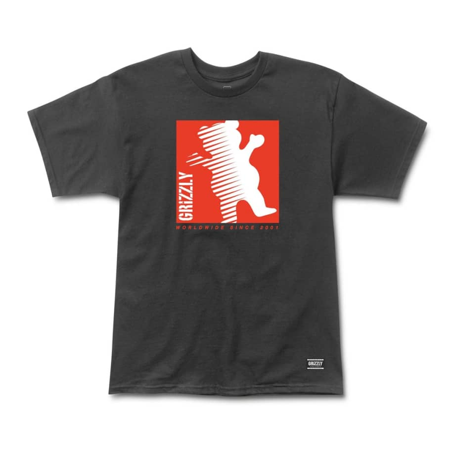Grizzly - On The Grind Tee - Black | T-Shirt by Grizzly Griptape 1