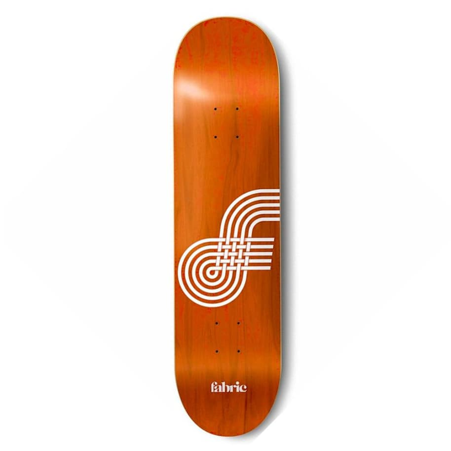 """Fabric Skateboards - Looping Mini Deck 7.45"""" Wide   Deck by Fabric Skateboards 1"""