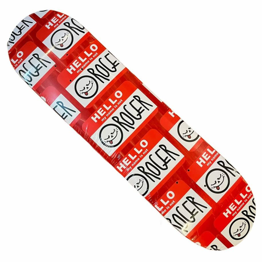 Roger Deck Skate Co. Hello 8.3x32.1 Various Stains   Deck by Roger Skate Co. 1