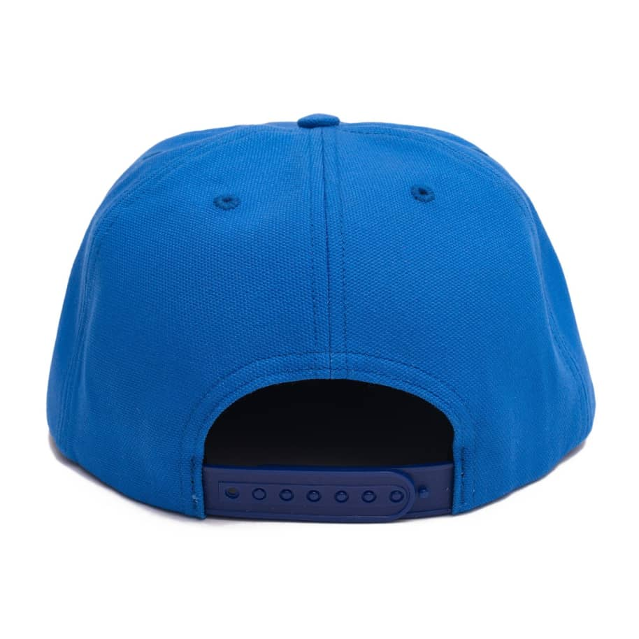 Call Me 917 Cyber Logotype Hat - Royal | Snapback Cap by Call Me 917 3