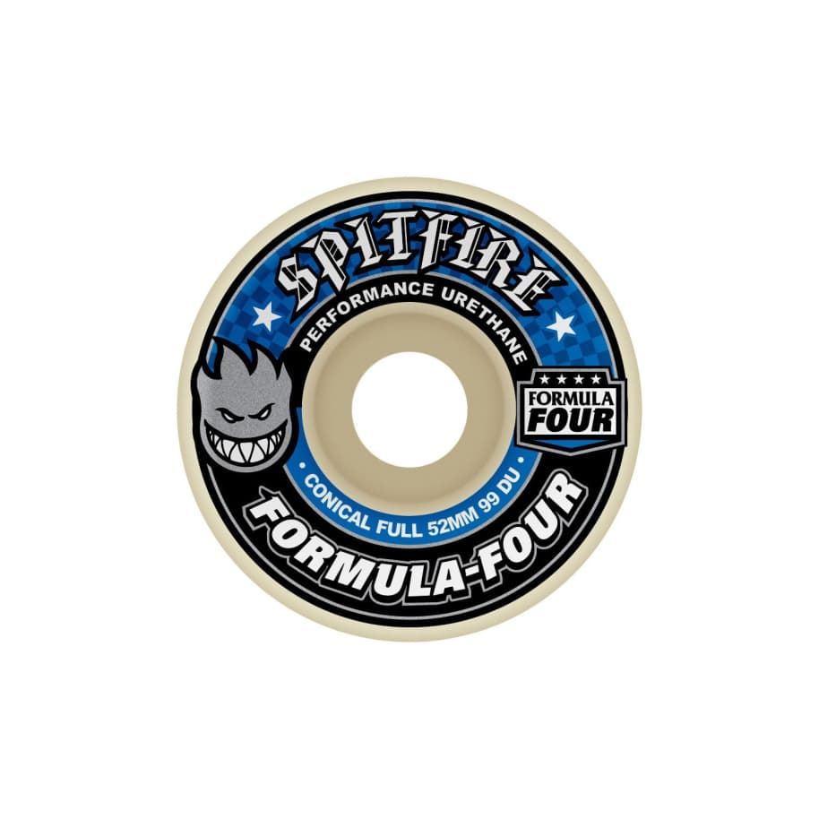 Spitfire Formula Four Conical Full wheels 99D (53mm) | Wheels by Spitfire Wheels 1