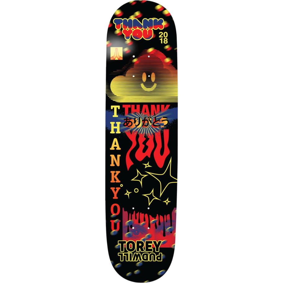 Thank You Torey Pudwill Fly Deck 8.0   Deck by Thank You Skate Co 1