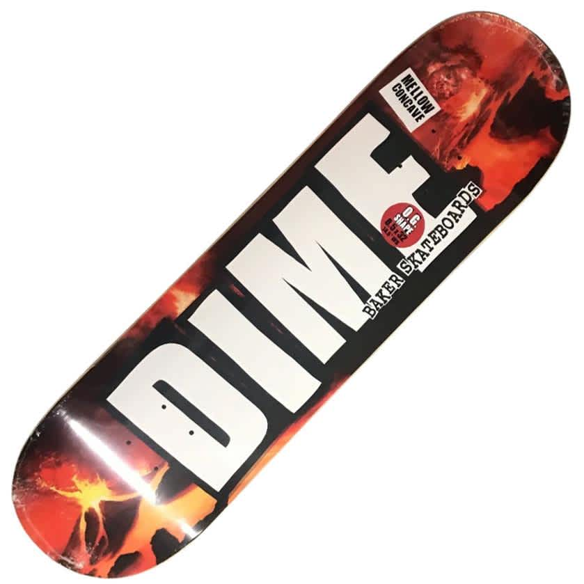 "Baker X Dime Volcano Deck (8.5"") | Deck by Baker Skateboards 1"