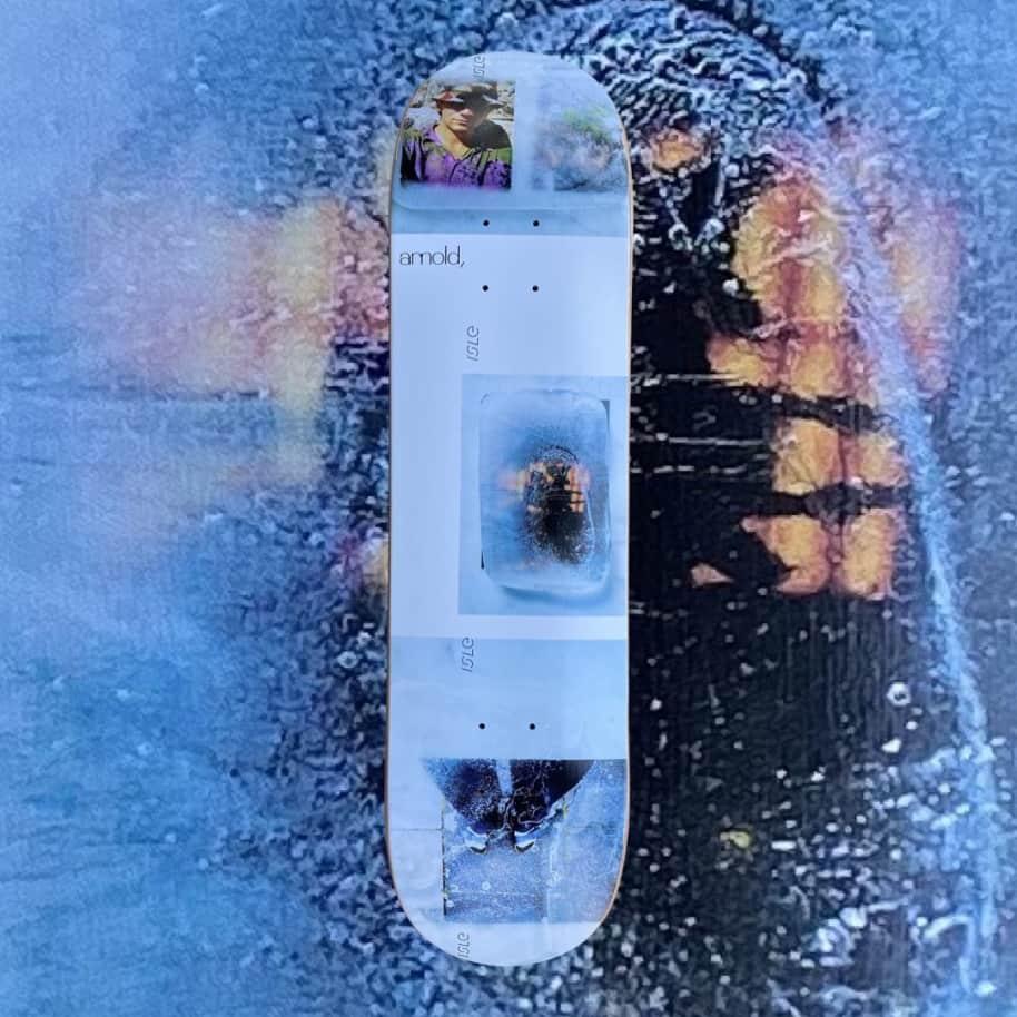 Isle Skateboards - Isle Freeze Mike Arnold Deck 8.25 | Deck by Isle Skateboards 1