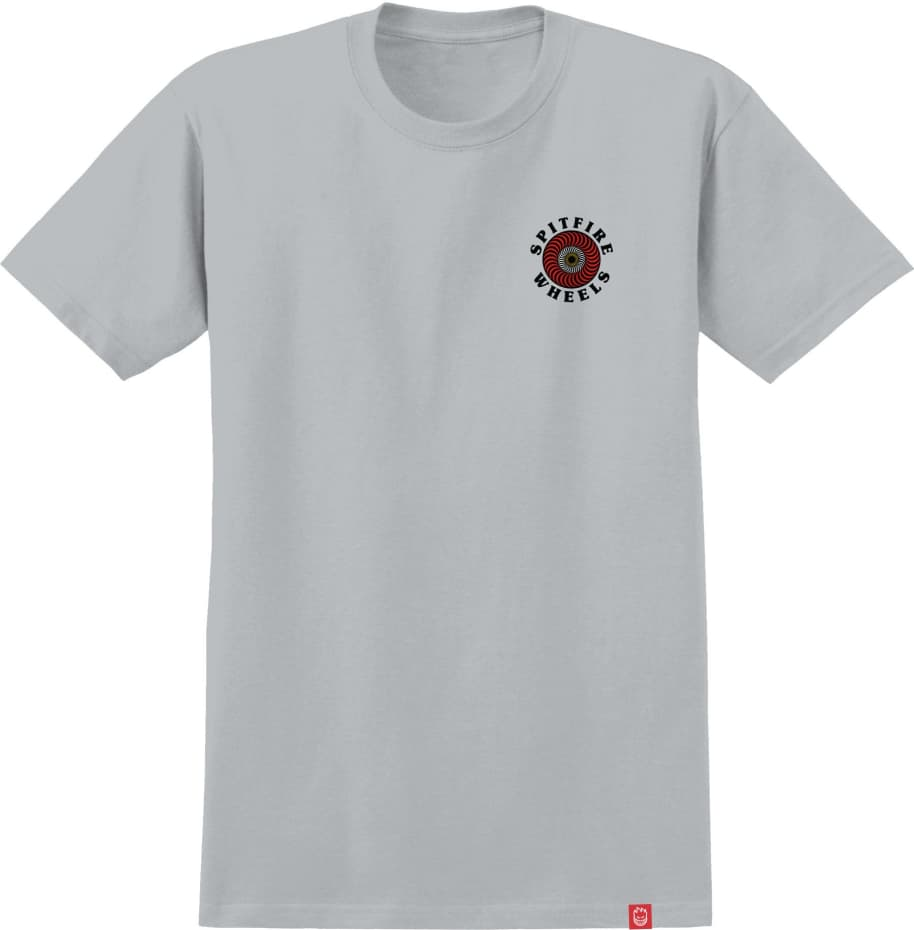 SPITFIRE OG Classic Fill Tee Silver   T-Shirt by Spitfire Wheels 2