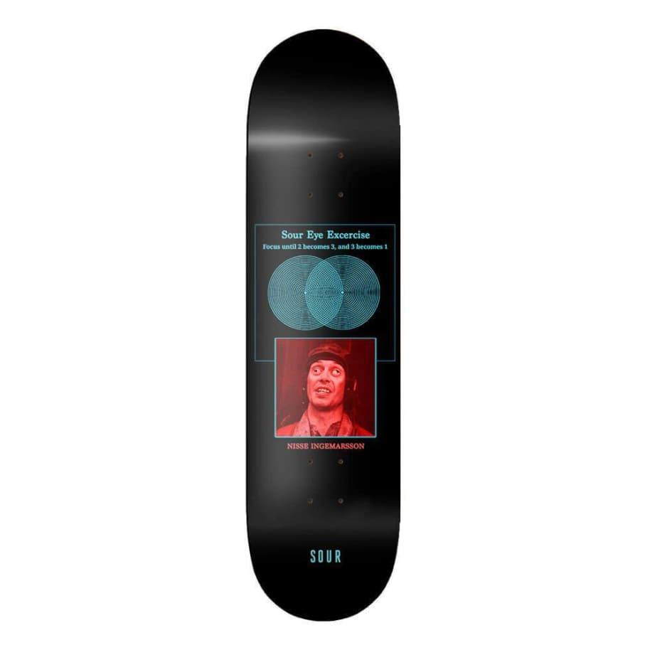 "Sour Solution Nisse Sour Eyes Deck 8.125""   Deck by Sour Skateboards 1"