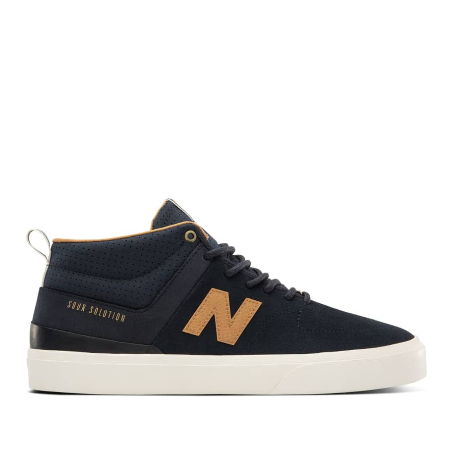 New Balance Numeric 379 Mid Sour Solution Shoes - Navy / Brown   Shoes by New Balance 1
