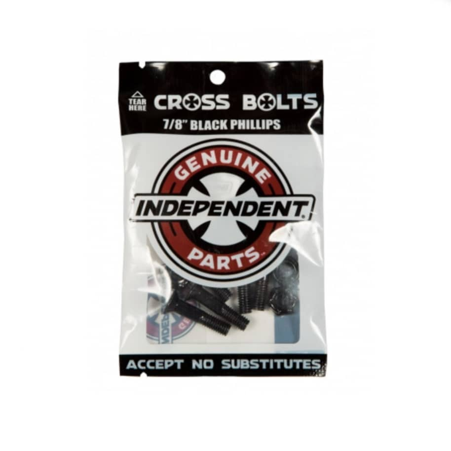 """Indy Cross Bolts Hardware - Phillps 7/8""""   Bolts by Independent Trucks 1"""