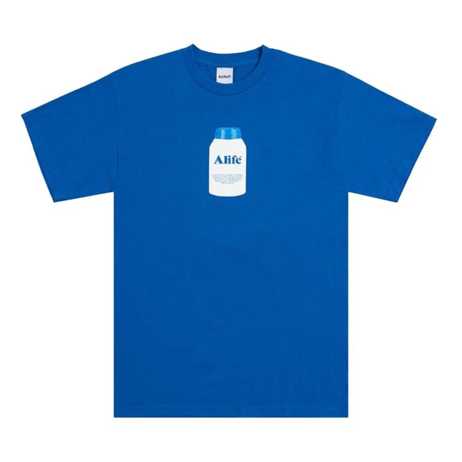 Alife - Painkiller Tee - Royal   T-Shirt by Alife 1