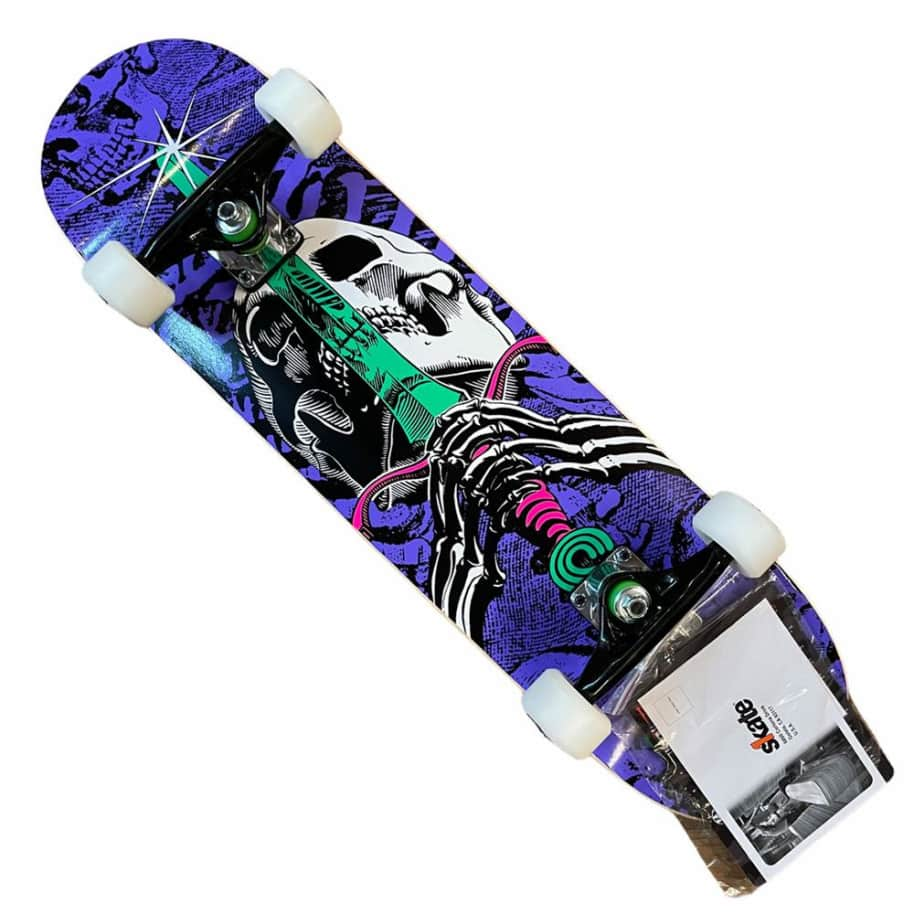 Powell Peralta Complete Skull and Sword 7.5x29.5 | Complete Skateboard by Powell Peralta 1