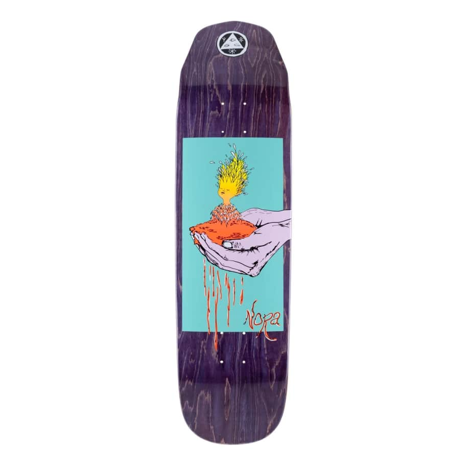 """Welcome Soil On Wicked Princess Deck Purple Stain (8.6"""") 