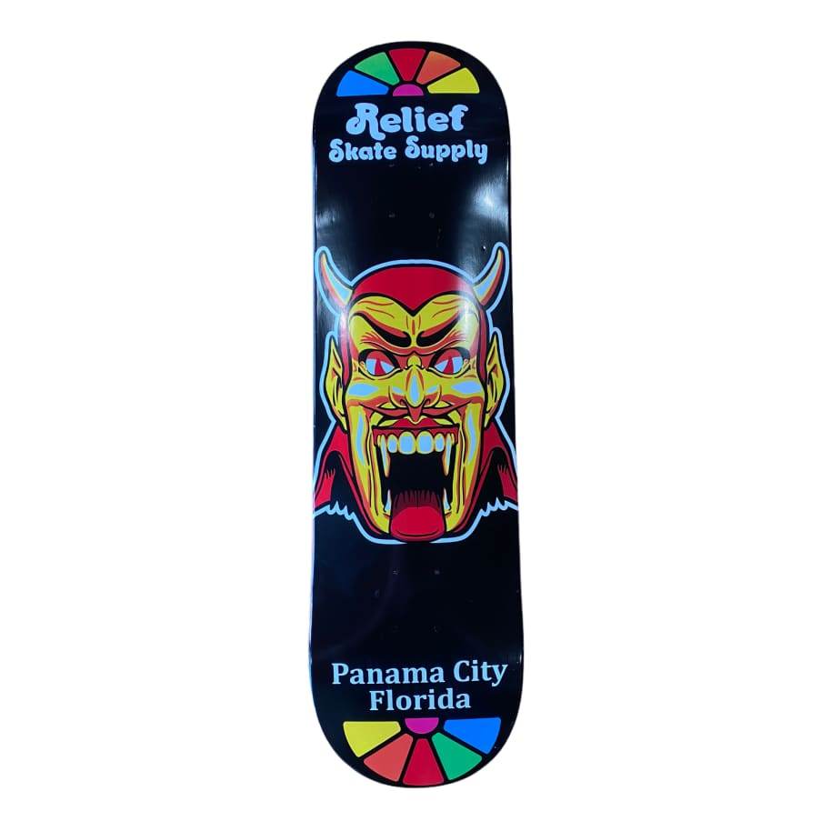 Relief Dantes inferno Deck | Deck by Relief Skate Supply 1