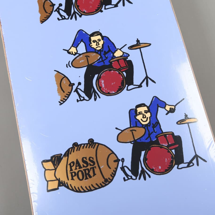 "PassPort 'What U Thought - Drums' 8.6"" Deck 