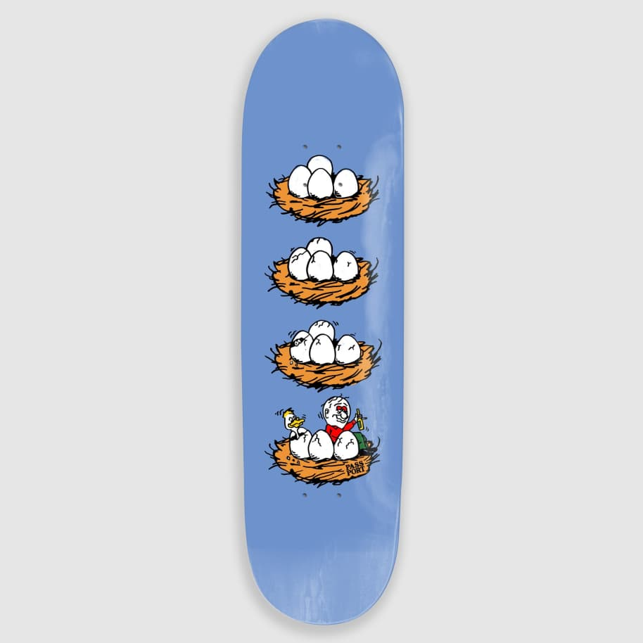 """Pass Port Skateboards - 8.25"""" What U Thought Eggs Skateboard Deck 