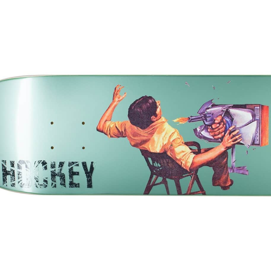 Hockey Ultraviolence Donovon Piscopo Skateboard Deck - 8"