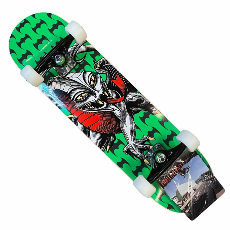 Powell Peralta Complete Cab Dragon 7.5x28.5 Green   Complete Skateboard by Powell Peralta 1
