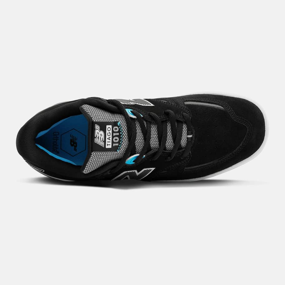 New Balance Numeric Tiago 1010 Shoes - Black / Blue | Shoes by New Balance 2