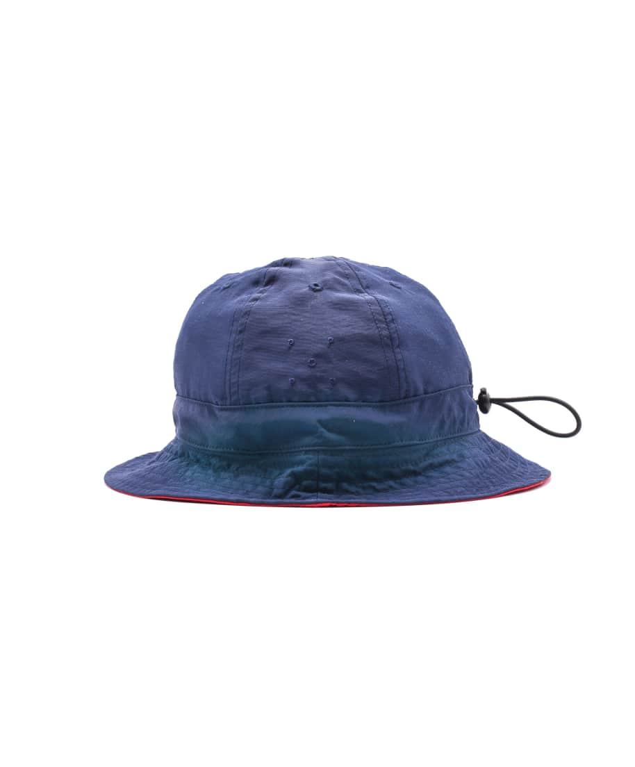 Pop Trading Company Reversible Bell Hat - Navy / Red | Bucket Hat by Pop Trading Company 1