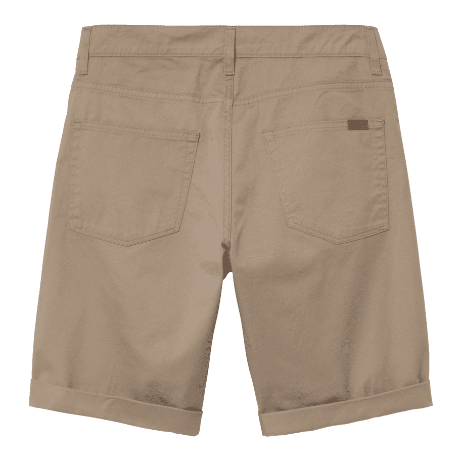 Carhartt WIP Swell Short - Leather (Rinsed) | Shorts by Carhartt WIP 2