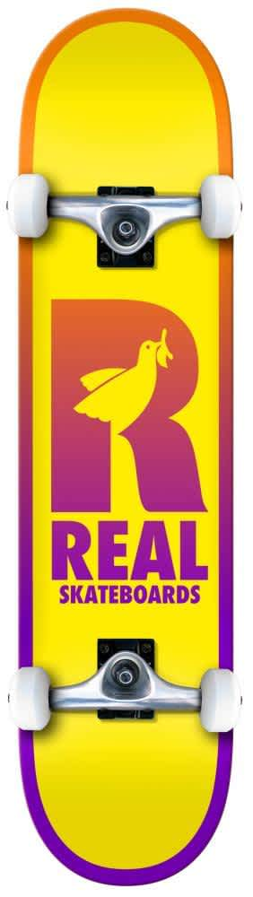 """Real Skateboards Be Free Complete 7.75"""" 