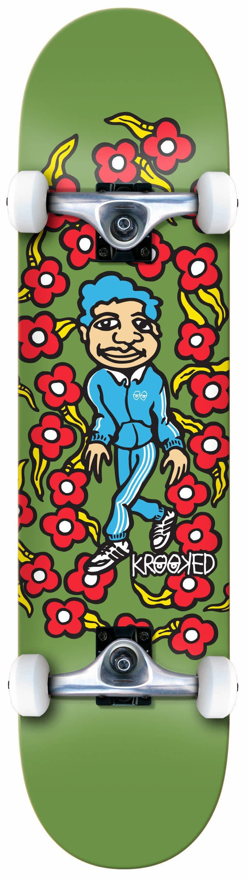 KROOKED Classic Sweatpants Complete 8.25   Complete Skateboard by Krooked Skateboards 1
